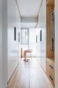 90平米三室一厅北欧风格衣帽间装修效果图
