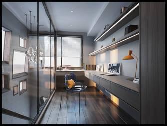 豪华型140平米复式现代简约风格书房效果图