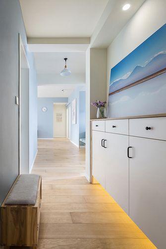豪华型110平米三室两厅北欧风格玄关图片