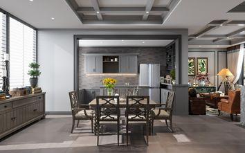 富裕型120平米三室两厅法式风格餐厅欣赏图