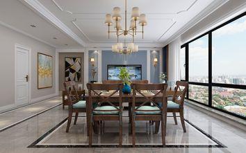 130平米三美式风格餐厅装修图片大全