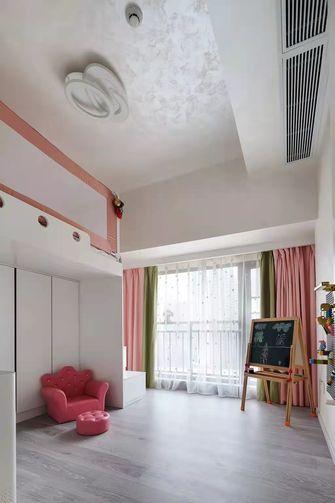 豪华型100平米三室两厅现代简约风格青少年房图片大全