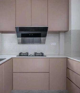 富裕型90平米三室一厅日式风格厨房装修效果图