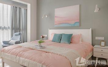 130平米四室一厅北欧风格卧室效果图