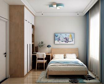 富裕型130平米三室一厅北欧风格卧室图