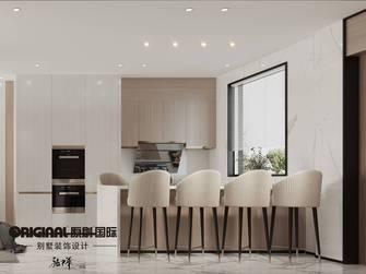 豪华型140平米复式轻奢风格餐厅装修图片大全