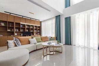 140平米复式日式风格客厅图