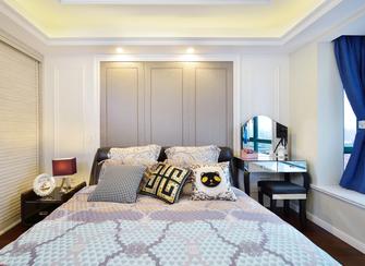 100平米三室一厅现代简约风格卧室装修图片大全
