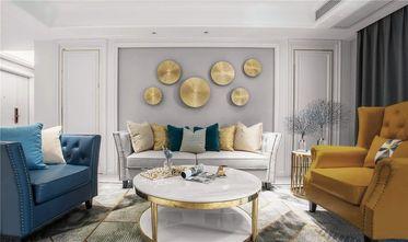 10-15万120平米三室两厅英伦风格客厅装修图片大全