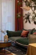 经济型90平米三室三厅北欧风格客厅图