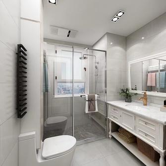 富裕型80平米混搭风格卫生间装修案例