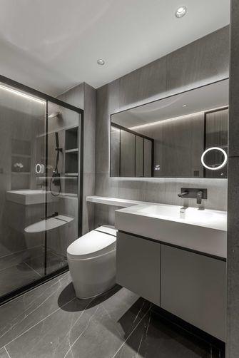 5-10万90平米三室两厅现代简约风格卫生间装修图片大全