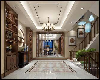 豪华型140平米别墅中式风格楼梯间装修图片大全