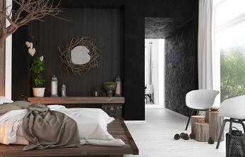 5-10万60平米公寓港式风格卧室装修案例