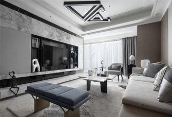 豪华型140平米三室三厅轻奢风格客厅图