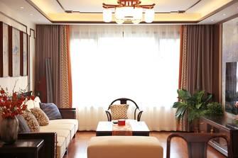 3万以下130平米三中式风格客厅装修效果图
