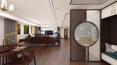 140平米三室一厅中式风格餐厅欣赏图