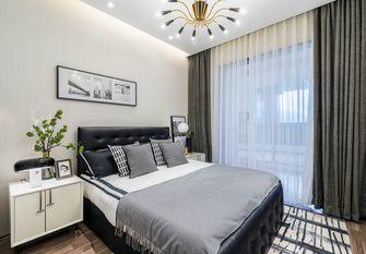 富裕型120平米三室一厅美式风格卧室装修图片大全