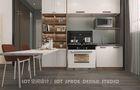3万以下80平米法式风格厨房图