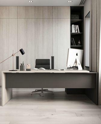 豪华型100平米四室两厅现代简约风格书房图片大全