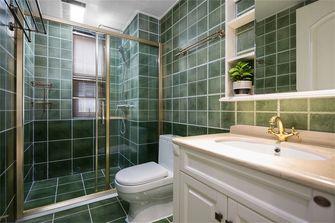 富裕型120平米三室两厅美式风格卫生间图片
