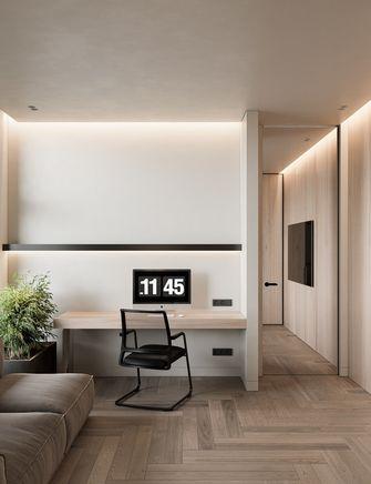 富裕型140平米四室两厅日式风格书房设计图