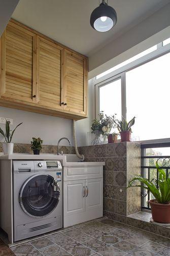 富裕型110平米三室两厅混搭风格阳台欣赏图