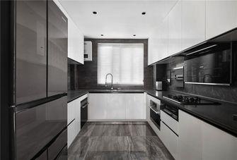 经济型80平米四室两厅现代简约风格厨房设计图