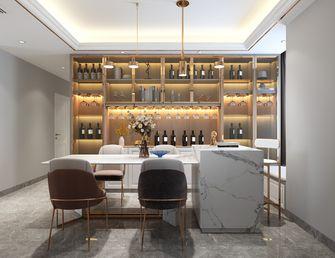 富裕型110平米三美式风格餐厅欣赏图
