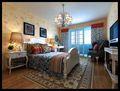 经济型90平米田园风格卧室设计图