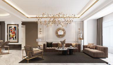 20万以上140平米复式轻奢风格客厅设计图
