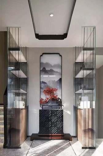 富裕型120平米三中式风格玄关装修效果图