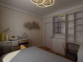 富裕型70平米现代简约风格卧室装修图片大全