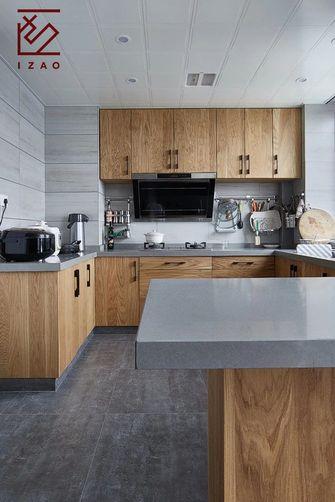 经济型130平米三室两厅中式风格厨房装修案例