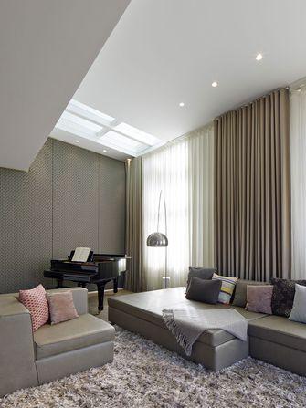 120平米三工业风风格客厅装修案例