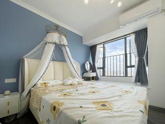 富裕型90平米三室两厅现代简约风格青少年房图片