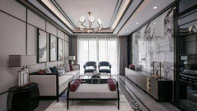 富裕型120平米三室两厅中式风格客厅效果图