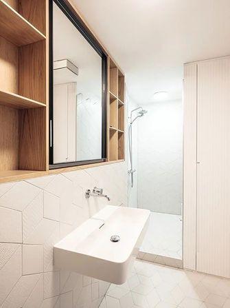 豪华型公寓现代简约风格卫生间效果图