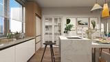 140平米三地中海风格厨房装修图片大全