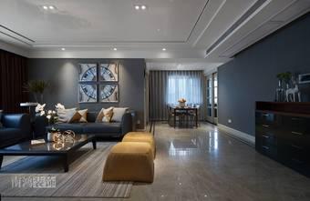 140平米四室三厅混搭风格客厅装修案例