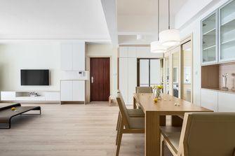 富裕型三室两厅现代简约风格餐厅设计图