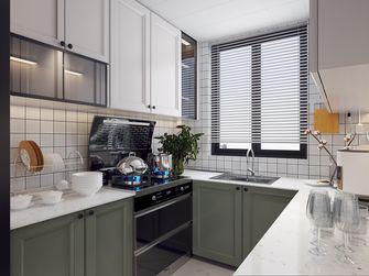 豪华型90平米三室两厅混搭风格厨房装修效果图
