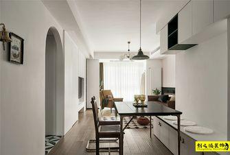 5-10万90平米三室两厅混搭风格餐厅欣赏图