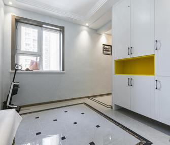 富裕型110平米三室两厅现代简约风格玄关图