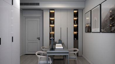豪华型130平米现代简约风格书房图片
