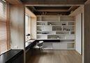 豪华型100平米三室一厅日式风格书房设计图