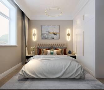 90平米三室两厅欧式风格卧室装修案例