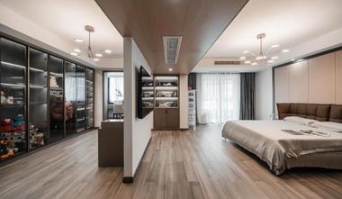 140平米别墅轻奢风格卧室效果图