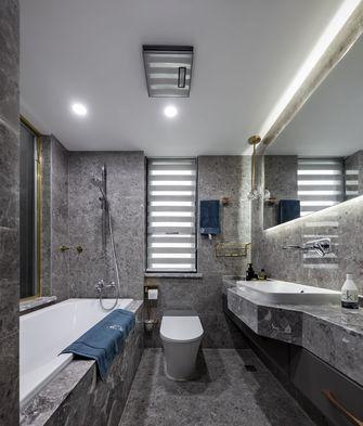 豪华型130平米三室两厅轻奢风格卫生间装修案例