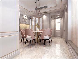 140平米四室三厅欧式风格餐厅欣赏图
